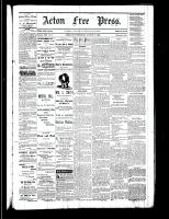 Acton Free Press (Acton, ON), August 17, 1882