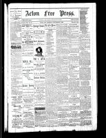 Acton Free Press (Acton, ON)7 Sep 1882