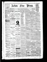 Acton Free Press (Acton, ON), September 21, 1882