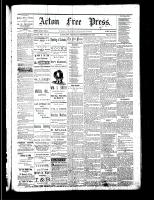 Acton Free Press (Acton, ON), September 28, 1882