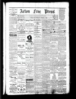 Acton Free Press (Acton, ON), October 5, 1882