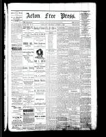 Acton Free Press (Acton, ON), October 12, 1882