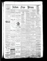 Acton Free Press (Acton, ON), October 19, 1882