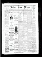 Acton Free Press (Acton, ON), December 14, 1882