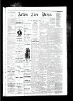 Acton Free Press (Acton, ON), December 21, 1882