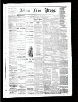 Acton Free Press (Acton, ON), December 28, 1882
