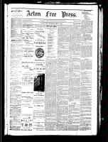 Acton Free Press (Acton, ON), September 6, 1883