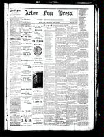 Acton Free Press (Acton, ON), September 13, 1883