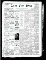 Acton Free Press (Acton, ON), November 22, 1883