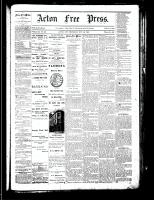 Acton Free Press (Acton, ON), November 29, 1883