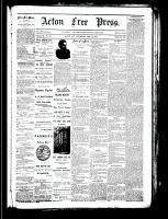 Acton Free Press (Acton, ON), December 13, 1883