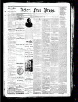 Acton Free Press (Acton, ON), December 27, 1883