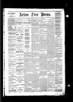 Acton Free Press (Acton, ON)31 Jul 1884