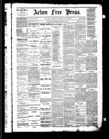 Acton Free Press (Acton, ON)25 Sep 1884