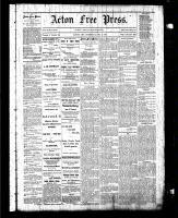 Acton Free Press (Acton, ON), December 4, 1884