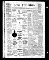 Acton Free Press (Acton, ON), December 18, 1884