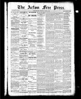 Acton Free Press (Acton, ON), March 4, 1886