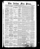 Acton Free Press (Acton, ON)25 Mar 1886