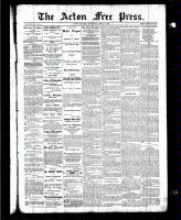 Acton Free Press (Acton, ON), April 8, 1886