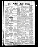 Acton Free Press (Acton, ON)15 Apr 1886