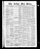 Acton Free Press (Acton, ON), April 22, 1886