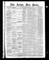 Acton Free Press (Acton, ON), April 29, 1886