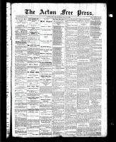 Acton Free Press (Acton, ON), May 13, 1886