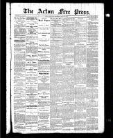 Acton Free Press (Acton, ON), May 20, 1886