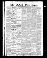 Acton Free Press (Acton, ON), June 3, 1886