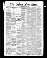 Acton Free Press (Acton, ON), June 24, 1886