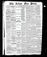 Acton Free Press (Acton, ON), July 8, 1886