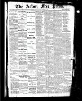 Acton Free Press (Acton, ON), July 15, 1886