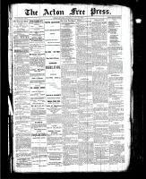 Acton Free Press (Acton, ON), July 22, 1886