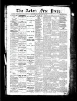 Acton Free Press (Acton, ON), July 29, 1886