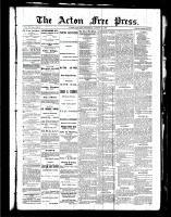 Acton Free Press (Acton, ON), August 19, 1886