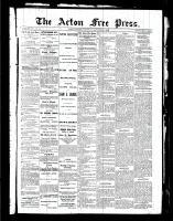 Acton Free Press (Acton, ON), September 2, 1886