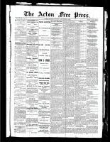 Acton Free Press (Acton, ON), September 9, 1886