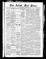 Acton Free Press (Acton, ON), September 16, 1886