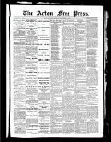 Acton Free Press (Acton, ON), September 23, 1886