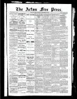 Acton Free Press (Acton, ON), September 30, 1886