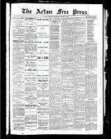 Acton Free Press (Acton, ON), October 7, 1886