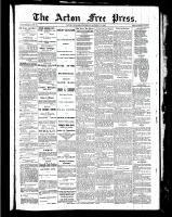 Acton Free Press (Acton, ON), October 14, 1886