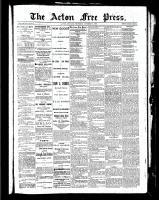Acton Free Press (Acton, ON), October 21, 1886
