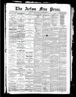 Acton Free Press (Acton, ON), December 23, 1886
