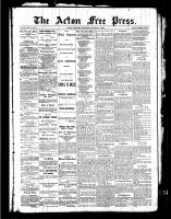 Acton Free Press (Acton, ON), March 17, 1887