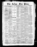 Acton Free Press (Acton, ON), March 31, 1887