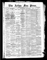 Acton Free Press (Acton, ON), May 19, 1887