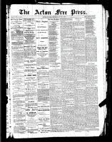 Acton Free Press (Acton, ON)2 Jun 1887