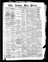 Acton Free Press (Acton, ON)9 Jun 1887