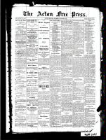 Acton Free Press (Acton, ON)23 Jun 1887